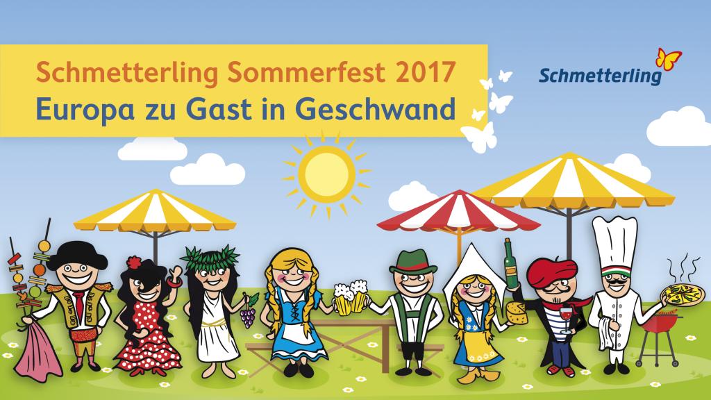 Schmetterling Sommerfest 2017
