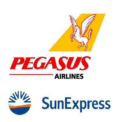 Pegasus und SunExpress