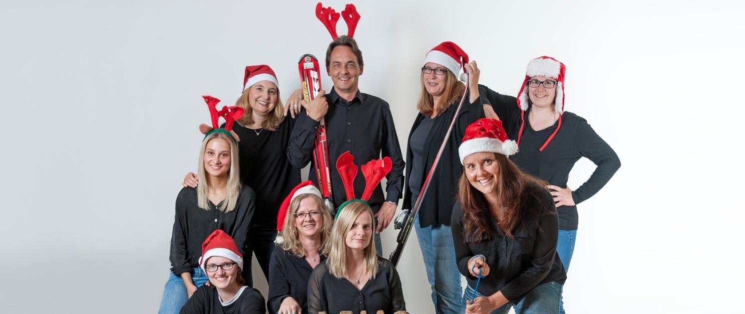 Weihnachtsgrüße vom gesamten Team