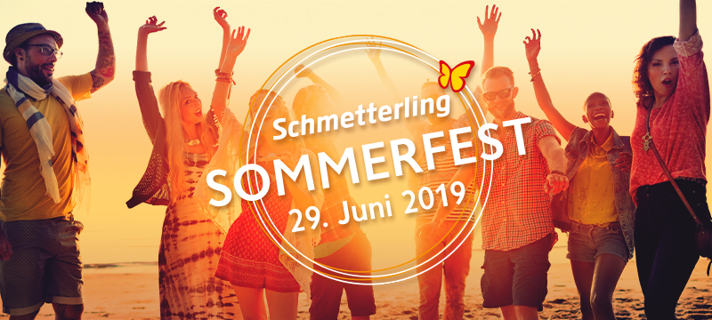 Schmetterling Sommerfest